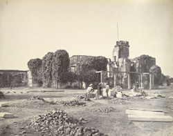 Ruins of Residency, Lucknow, NWP.